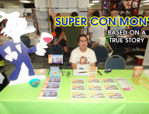My First Artist Alley Comic Convention Adventure