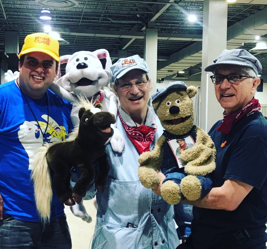 Ted the train man and friends   Artist Alley Tips for Beginners